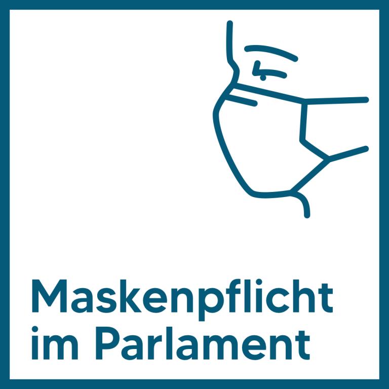 Maskenpflicht im Parlament