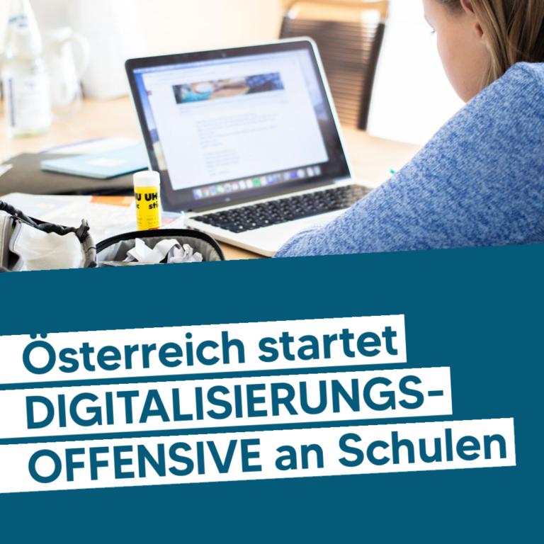 Digitalisierungsoffensive Junge ÖVP