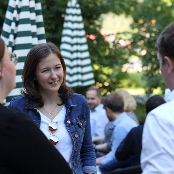 Junge OEVP x Junge Union Grenzwanderung Claudia Plakolm