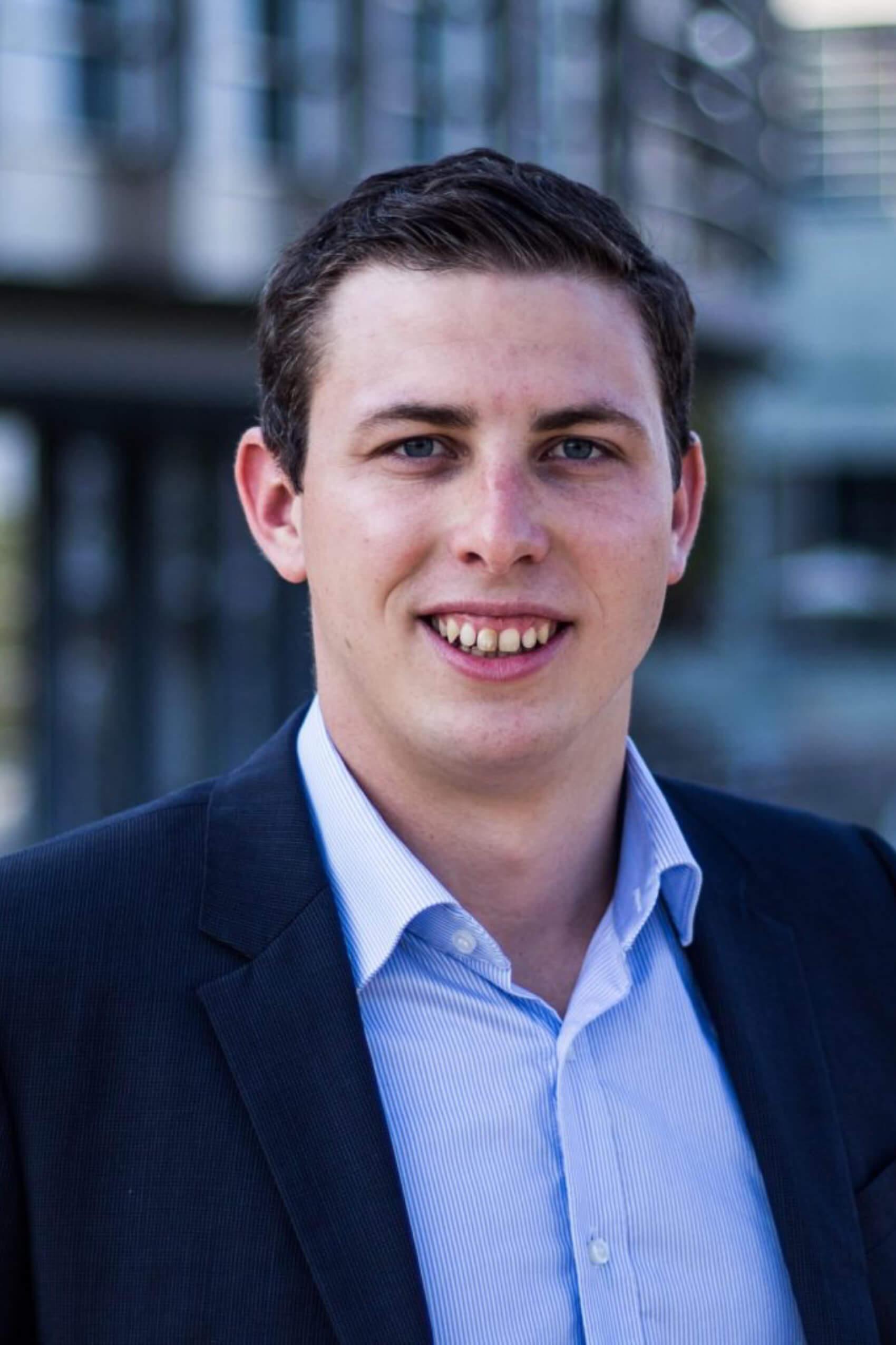 Junge OEVP Internationaler Sekretär Michael Stellwag